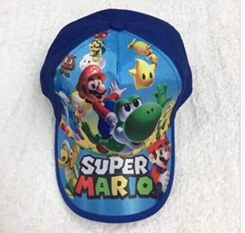 AJSJ 1Pcs Cartoon Super Mario Mode Sonne Mario Casual Cosplay Baseball Cap Kinder Party Geschenke, A.