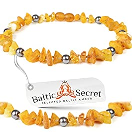 NO METAL ! Authentic Amber Collar for dogs and cats / Flea treatment / 100% Genuine Raw Baltic Amber Collars / Natural Tick and Flea Control and Prevention / Nature's Way of Protecting Your Four Leged Buddy