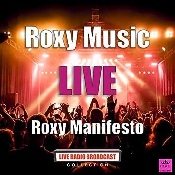 Roxy Music Manchester (Live)