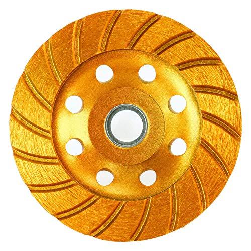 160//125 Micron = 120 Grit Hole 1.26 10mm. Dia 6 Type: 1A1 Straight Abrasive Diamond Grinding Wheel Width: 0.4 150mm. 32mm.
