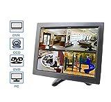 "BW 10"" inch LCD Color Multimedia Monitor CCTV Monitor with HDMI/AV/VGA/BNC Inputs"