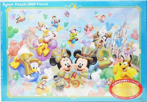 【東京ディズニーリゾート30周年記念】 ザ・ハピネス・イヤー ミッキマウス&ミニーマウス ジグソーパズル 1000ピースDisney