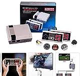 ZHANGRONG Clásico Juego Consola Retro,Videojuegos De TV Consola De Juegos Portátil Clásica Retro De 8 bits AV Game...