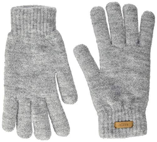 Barts Damen Witzia Gloves Handschuhe, Grau (Heather Grey 0002), One size (Herstellergröße: UNI)