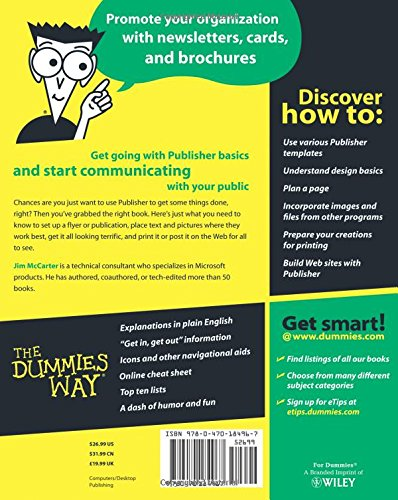 MS Off Publisher 2007 For Dummies (For Dummies S.)