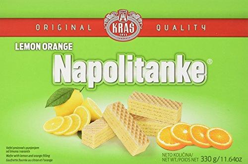Kras Napolitanke Zitrone Orange Neapolitanerwaffeln (1 x 330 g)