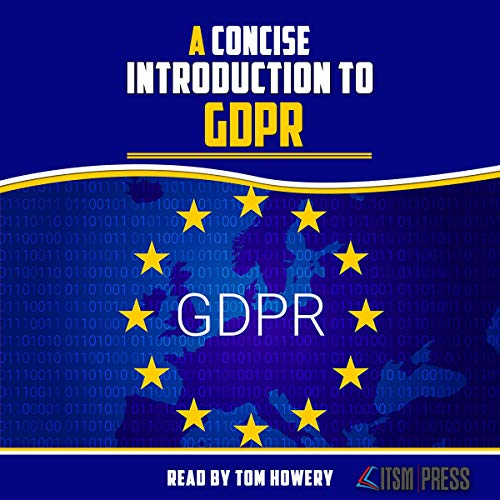 A Concise Introduction to GDPR Titelbild