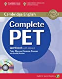 Complete PET for Spanish Speakers Workbook with Answers with Audio CD