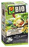 COMPO BIO Concime Universale Organico, Effetto Prolungato, con Lana di Pecora, per tutte le piante da orto e giardino, 2kg