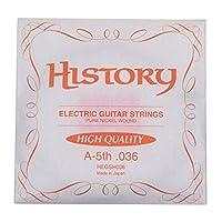 HISTORY HEGSH036 エレキギター弦 A-5th .036 バラ弦1本 (ヒストリー)