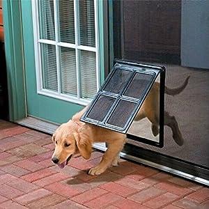 Pet Screen Door – Dog Door for Screen Door , 12″ x 16″ – K&L Pet