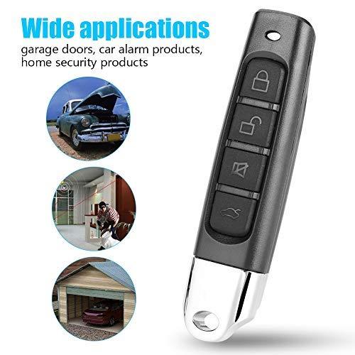 Zunate garagedeuraandrijving, poortaandrijving met automatische uitschakeling garagedeur afstandsbediening, voor auto-alarmproducten, Home Security producten, afstandsbediening draadloze afstandsbediening producten, 433 MHz
