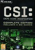 Crime Scene Investigation Complete Edition includes 6 CSI Games PC