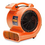 Soleaire Max Storm 1/2 HP Air Mover for House and Janitorial Drying Carpet and Floor, Pack of 30, Orange