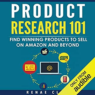 Product Research 101 audiobook cover art