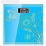 LCSHAN Báscula de Peso Básculas de pesaje electrónicas Recargables Básculas corporales de Salud para el hogar Pérdida de Peso para Adultos precisa Dispositivo de pesaje