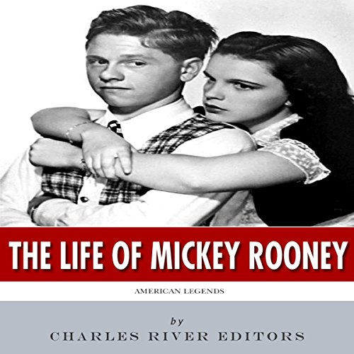 American Legends: The Life of Mickey Rooney audiobook cover art