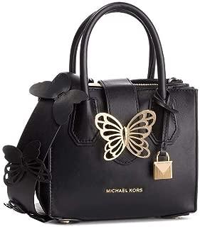Michael Kors 30S9GM9M1L-001 XS Acrdion Tab Handbag, Black