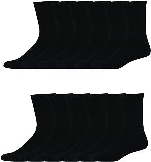Hanes mens Freshiq X-temp Active Cool Crew Socks, 12-pack