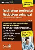 Concours rédacteur territorial, rédacteur principal catégorie B - Externe, interne et examen professionel