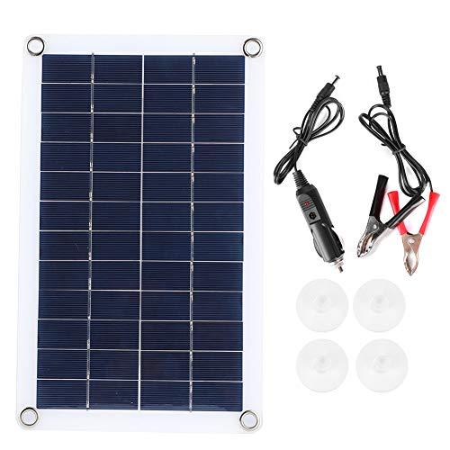 Carga de panel solar de alta calidad, Panel solar de alta eficiencia, Cargador solar portátil para actividades al aire libre, emergencias laborales