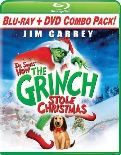 Dr. Seuss' How The Grinch Stole Christmas (Blu-ray Combo Pack (Blu-ray + DVD)) by Universal Studios by Ron Howard