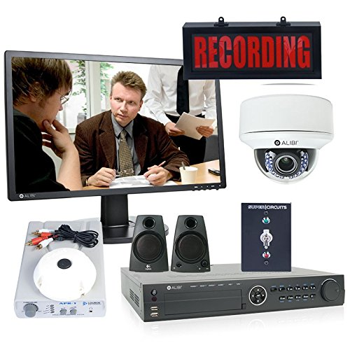 Lowest Price! 1-Camera HD-TVI 1080p Full HD Resolution Interview Room Audio/Video Surveillance Syste...