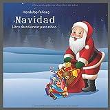 Navidad - Libro de colorear para niños - Mandalas felices (La mejor idea de regalo de vacaciones)