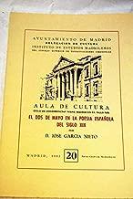El dos de mayo en la poesía española del siglo XIX (Ciclo de conferencias sobre Madrid en el siglo XIX) (Spanish Edition)