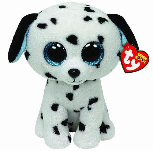 TY 7136042 - Fetch Hund Dalmatiner Beanie Boos, 15 cm