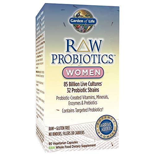 Garden of Life - RAW Probiotics Women - 90 Vegetarian Capsules (Shipped Cold)