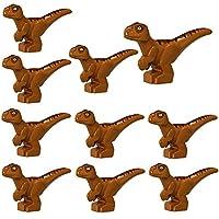 ジュラ紀恐竜セットビルディングブロックフィギュア indoraptor velociraptor triceratop t-rex 恐竜世界公園レンガのおもちゃ少年
