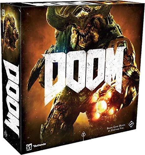 Asmodee- Doom: El Juego de Mesa Edición íntegramente en Italiano con espléndidas...