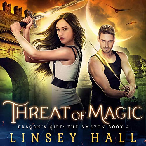 Threat of Magic audiobook cover art