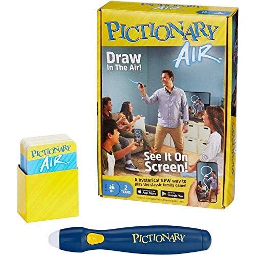 Mattel Games- Pictionary Air Gioco per Disegnare in Aria Famiglie, 8+Anni, Multicolore, GPR22
