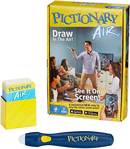Mattel Games, Pictionary Air, Familien-Zeichnungsspiel, Links zu Smart-Geräten, ab 8 Jahren