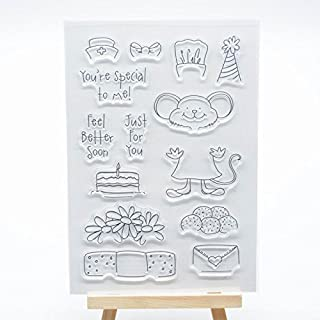 Welcome to Joyful Home 1pc You are Special to me Clear Stamp for Card Making Decoration and Scrapbooking