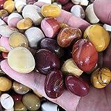 100 g de yema de huevo natural Grava de cristal de cristal de piedra Muestra áspera Tanques de peces y acuarios Decoración