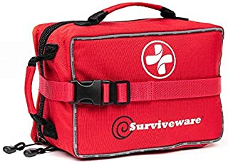 Best Surviveware Large First Aid Kit & Added Mini Kit for Trucks, Car, Camping and Outdoor Preparedness Review