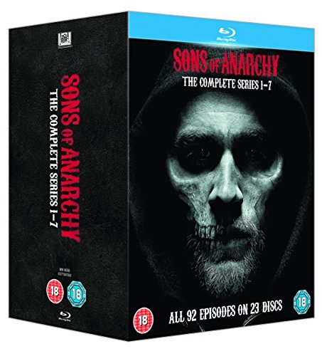 Sons of Anarchy (Complete Series 1-7) - 23-Disc Box Set ( Sons of Anarchy - Series One thru Seven (92 Episodes) ) [ Origine UK, Nessuna Lingua Italiana ] (Blu-Ray)