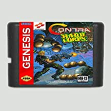 Contra The Hard Corps 16 bit SEGA MD Game Card For Sega Genesis Only ,Sega Genniess-Sega Ninento,16 bit MD Game Card