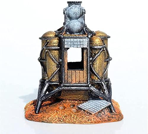 MWKL No se Aplica Lunar Logger Fish Tank Decoration Adornos de Acuario 14x13x14cm