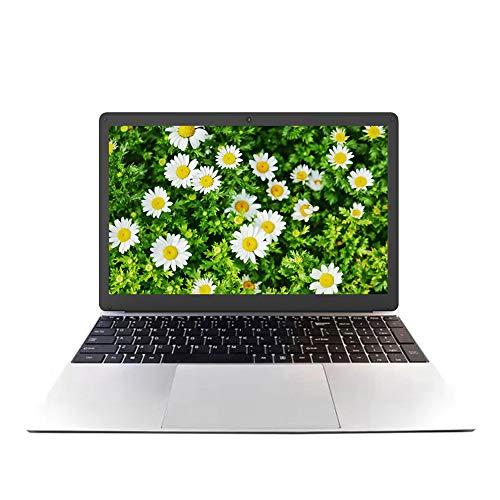 Computer portatile da 15,6 pollici, Full HD 1920 x 1080, Intel J4125   J4115 Quad CPU, 8 GB di RAM, SSD da 128 GB, sistema operativo Windows 10 Pro, online meeting, webcam, design compatto, Wi-Fi