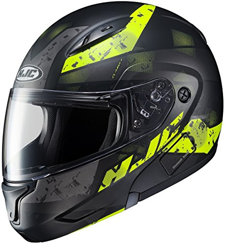 HJC CL-MAX 2 Helmet - Friction (LARGE) (BLACK/GREEN)