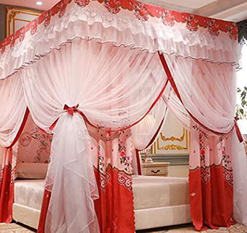 Universal Square Mosquito Net Summer Cama para Dormir Cuna Red Cozy Drope Cama Cortina Crib Cuna Net Fácil Instalación A