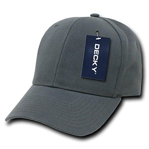 Plain Hats Uni Pro Chapeaux Casquette de Baseball, Homme, Pro, Charbon, n/a