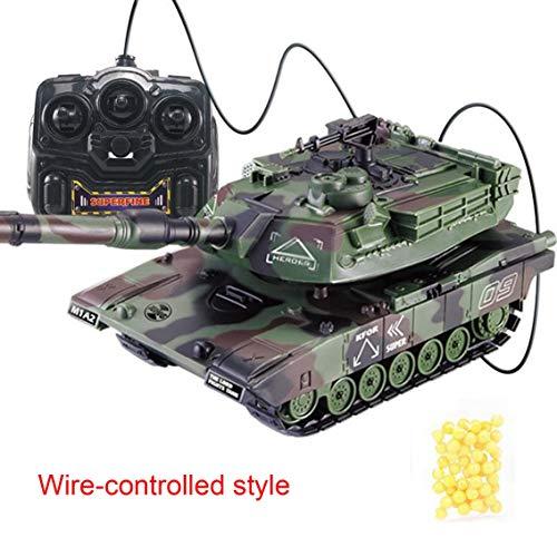 Banbie 1:32 RC Panzerketten-Fernbedienung kann Soft Bullets Light & Music RC Modell Kids Toy starten