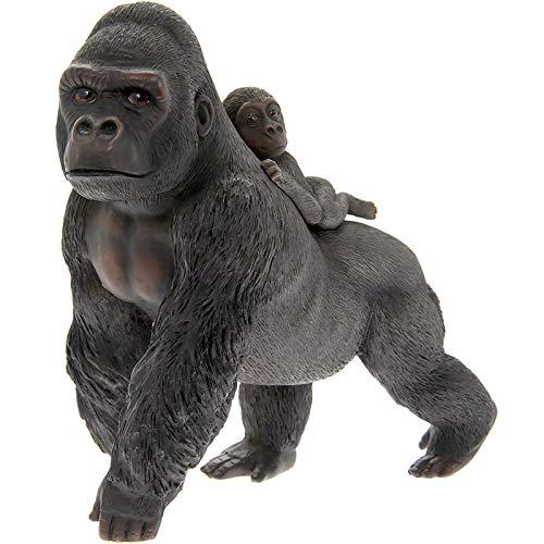 Leonardo Collection - Gorilla and Baby Ornament