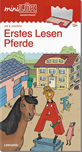 miniLÜK-Übungshefte: miniLÜK: Vorschule/1. Klasse - Deutsch: Pferde - Erstes Lesen: Vorschule / Vorschule/1. Klasse - Deutsch: Pferde - Erstes Lesen (miniLÜK-Übungshefte: Vorschule)