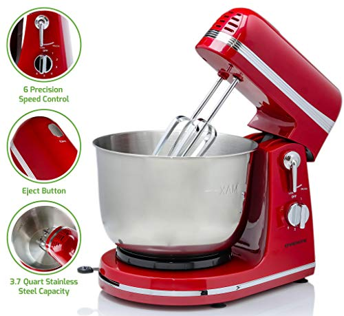 Ovente Electric Stand Mixer with...
